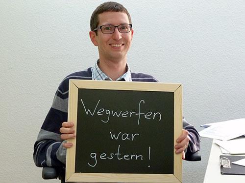Zero Waste Berlin, Tobias Quast, Projektleiter, Ansprechpartner für Fördermittelgeber und Institutionen